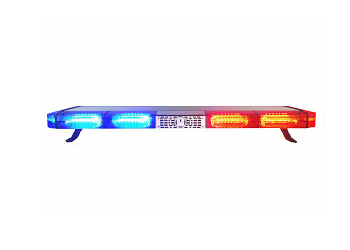 Strobe Warning Amber Emergency LED Light Bar For Police / Ambulance Vehicle